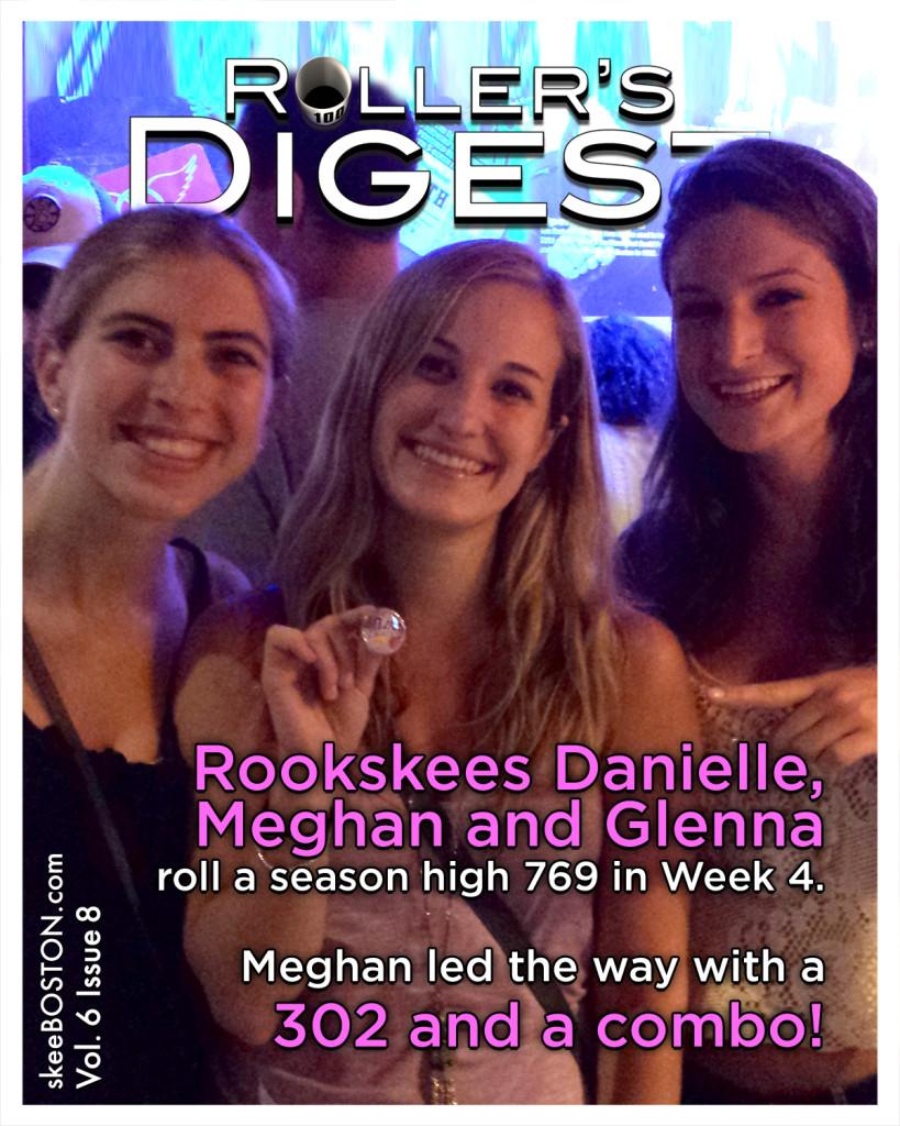 Meghan leads Skee DaMaGe in Week 4