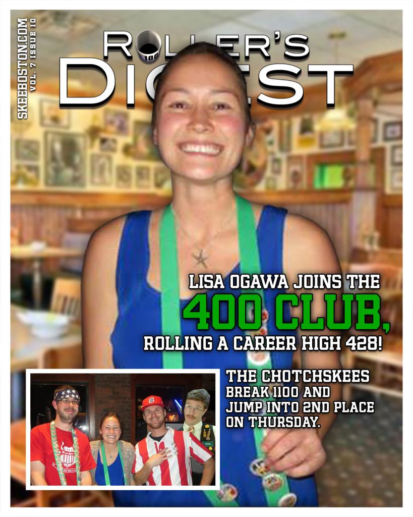 Lisa Joins 400 Club