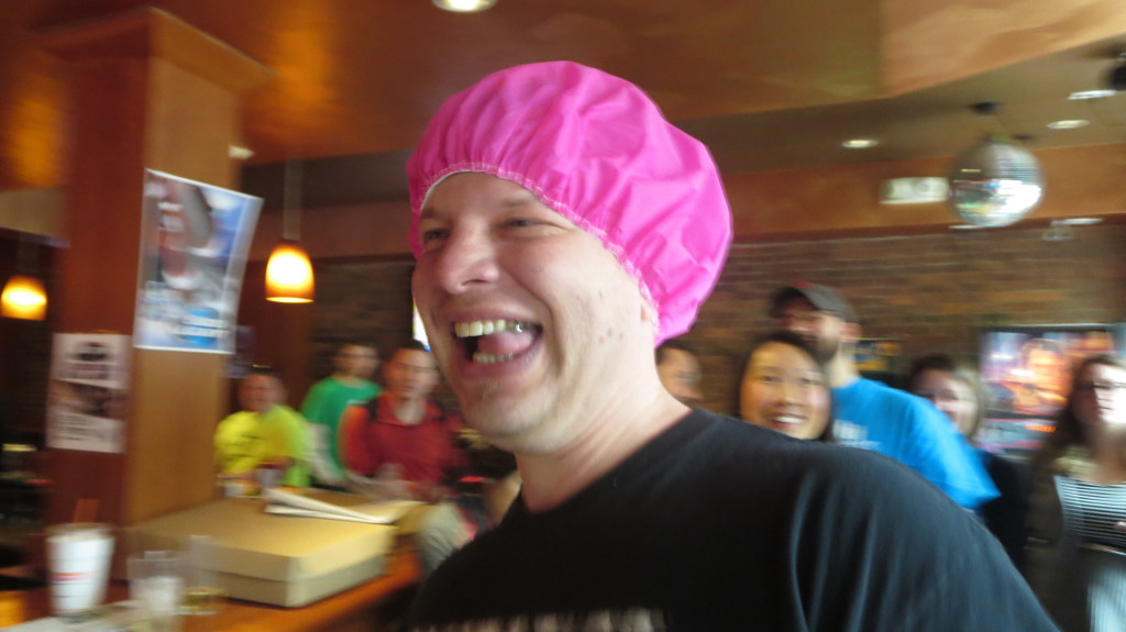 The Pink Shower Cap