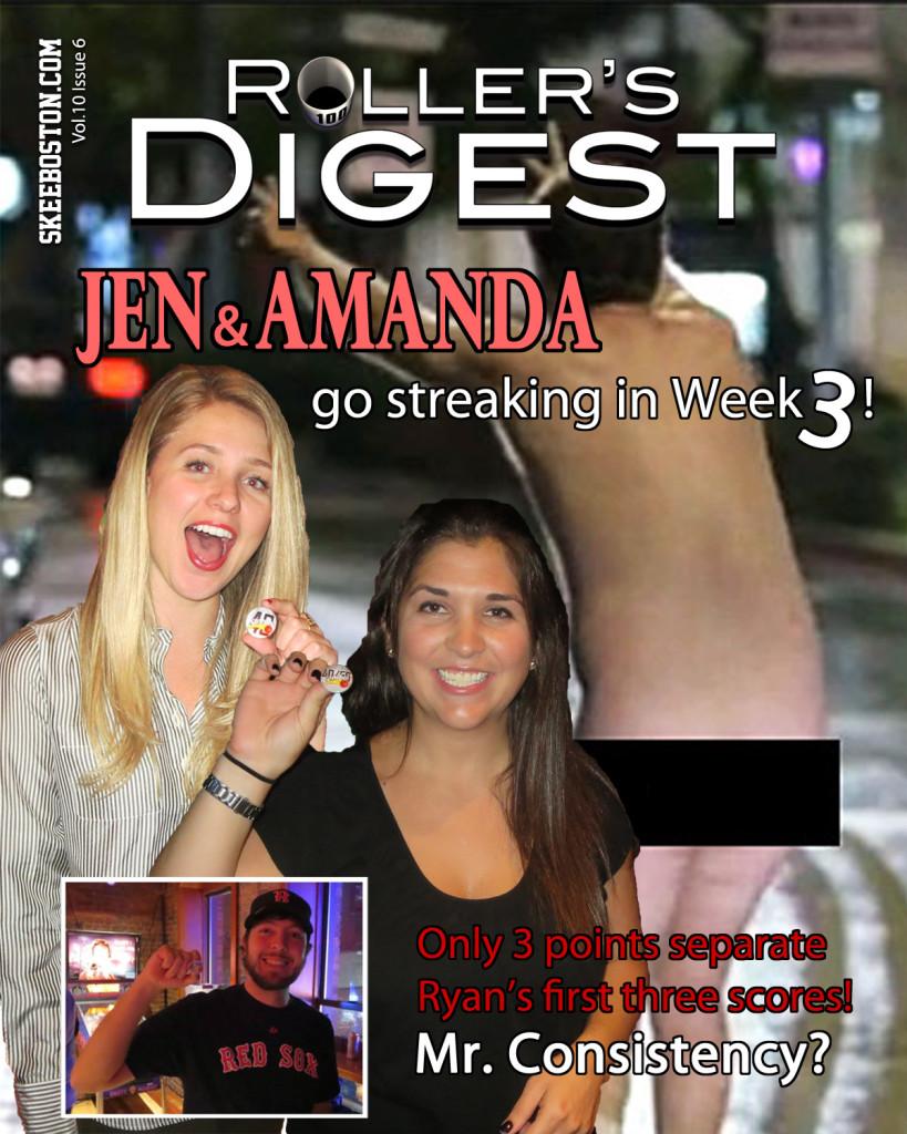 Jen and Amanda Go Streaking