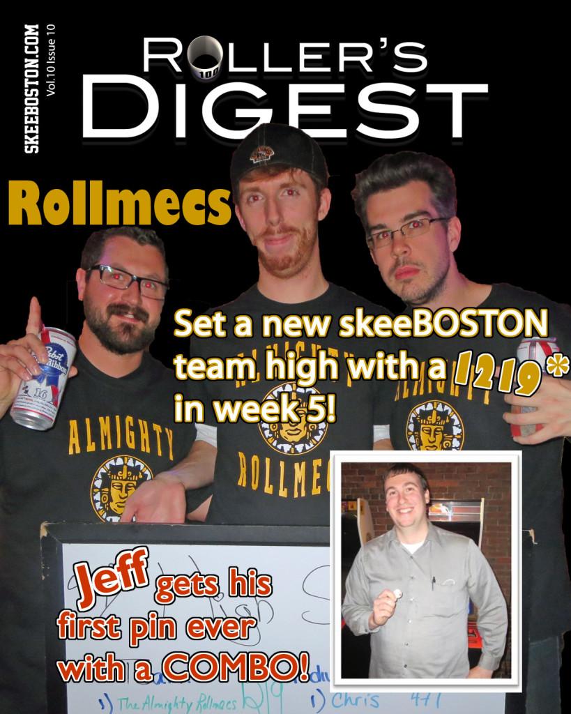 Rollmecs Set New Team High